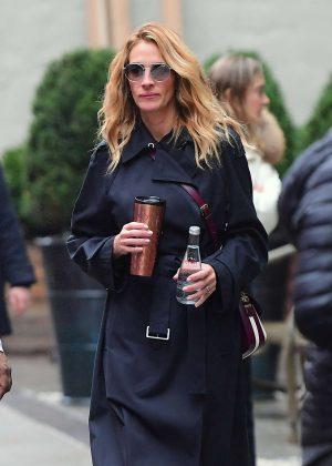 Julia Roberts - Shopping in NYC