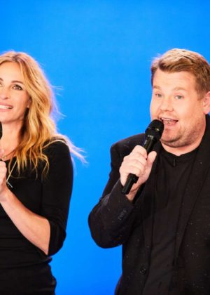 Julia Roberts - 'The Late Late Show with James Corden' in Los Angeles
