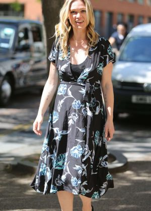 Julia Stiles - Leaves ITV Studios in London