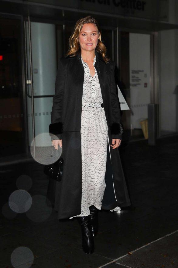Julia Stiles - Leaving the 'Hustlers' in New York