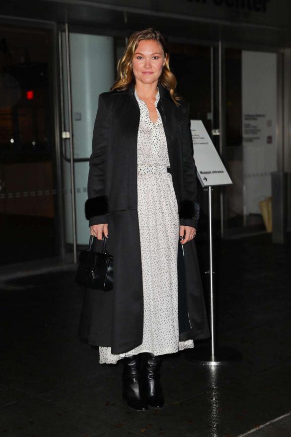 Julia Stiles 2019 : Julia Stiles – Leaving the Hustlers in New York-04