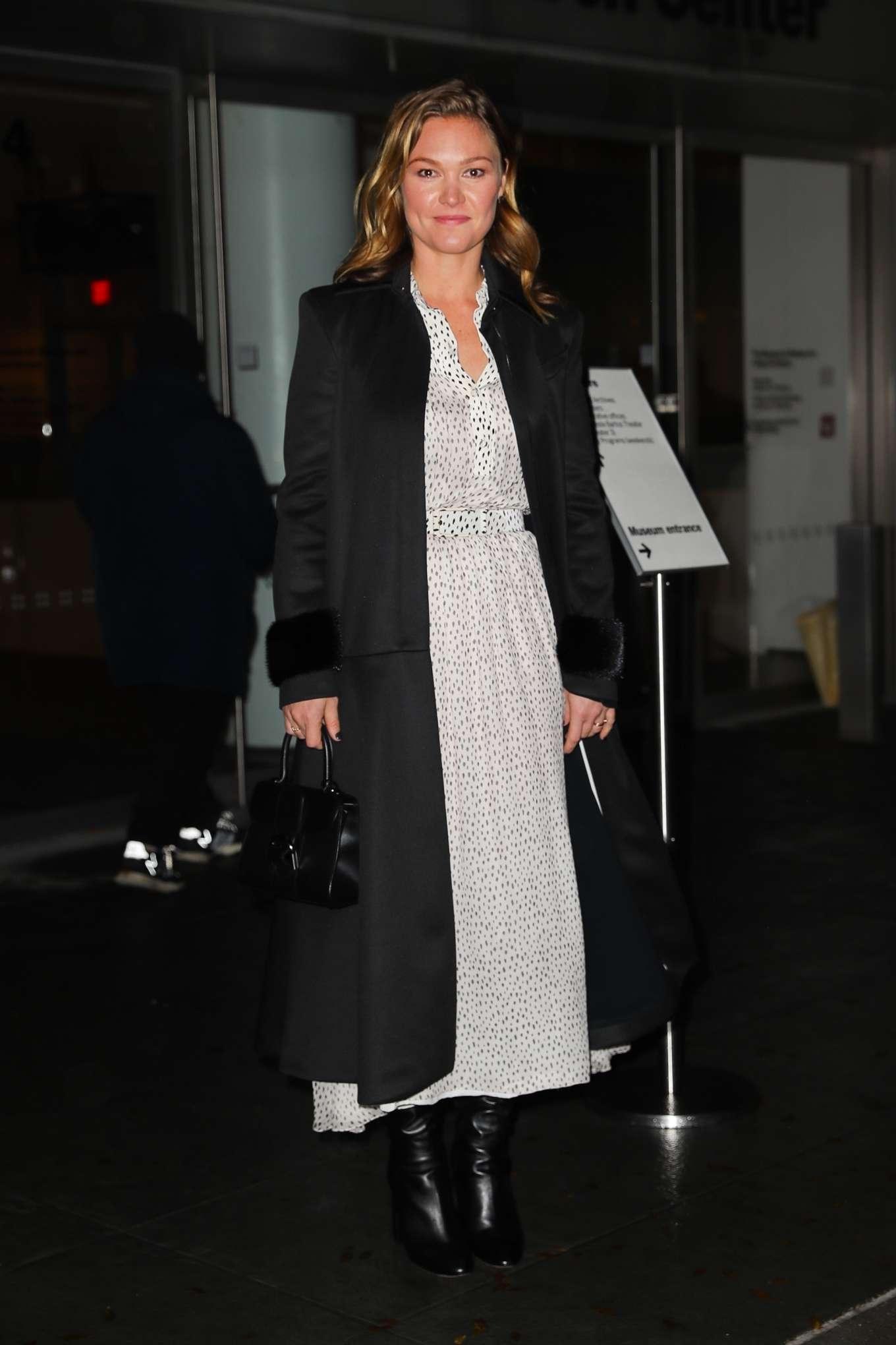 Julia Stiles 2019 : Julia Stiles – Leaving the Hustlers in New York-05