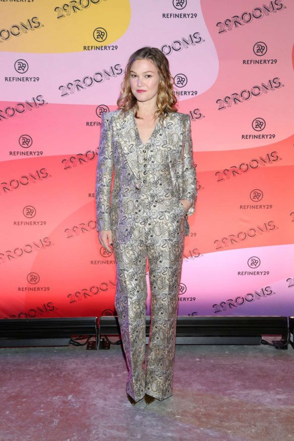 Julia Stiles - Refinery29 Presents 29Rooms New York: Expand Your Reality Experience