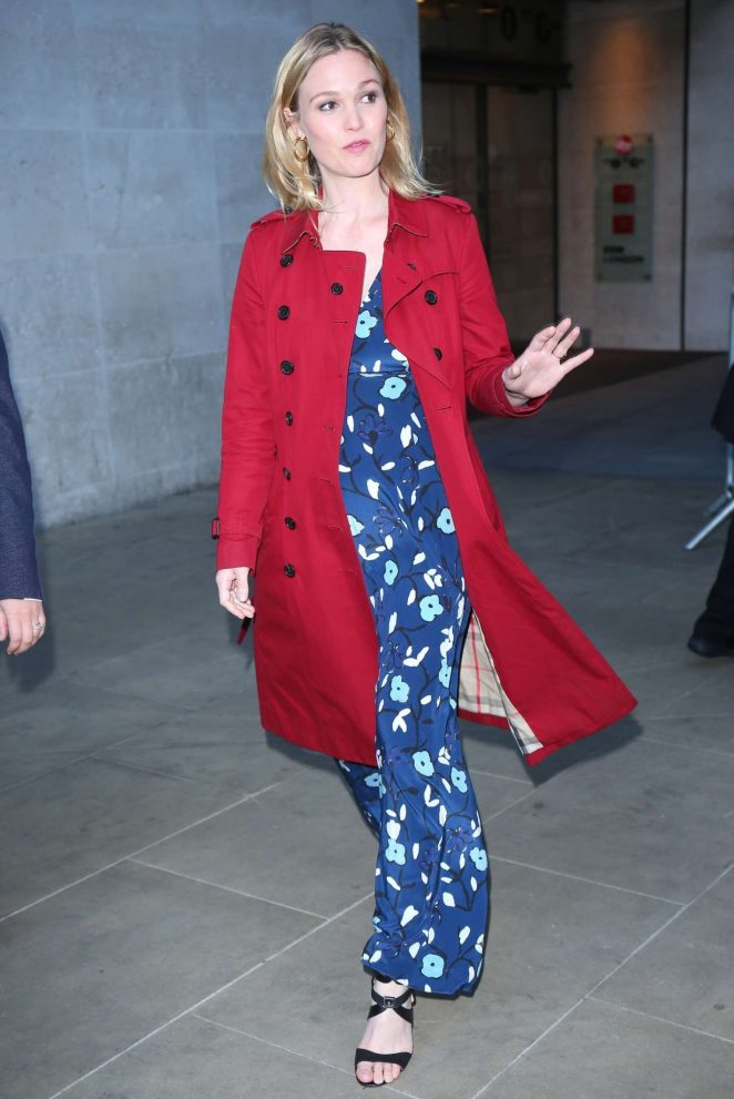 Julia Stiles - 'The One Show' at BBC Broadcasting House in London