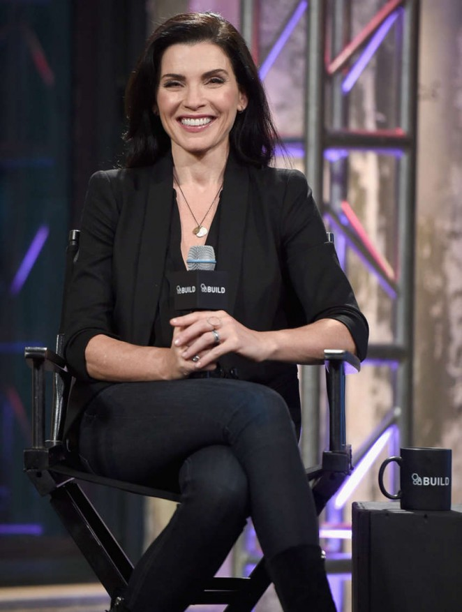 Julianna Margulies at AOL Studios In New York