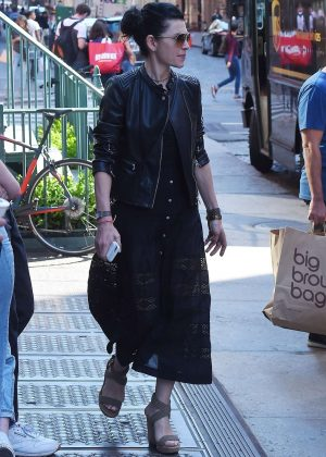 Julianna Margulies - Out and about in SoHo
