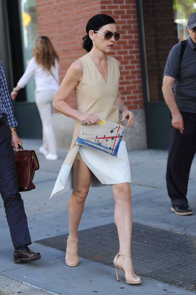 Julianna Margulies out in New York City