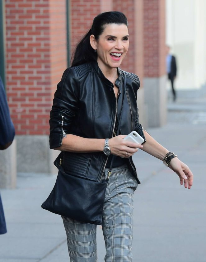 Julianna Margulies out in NYC