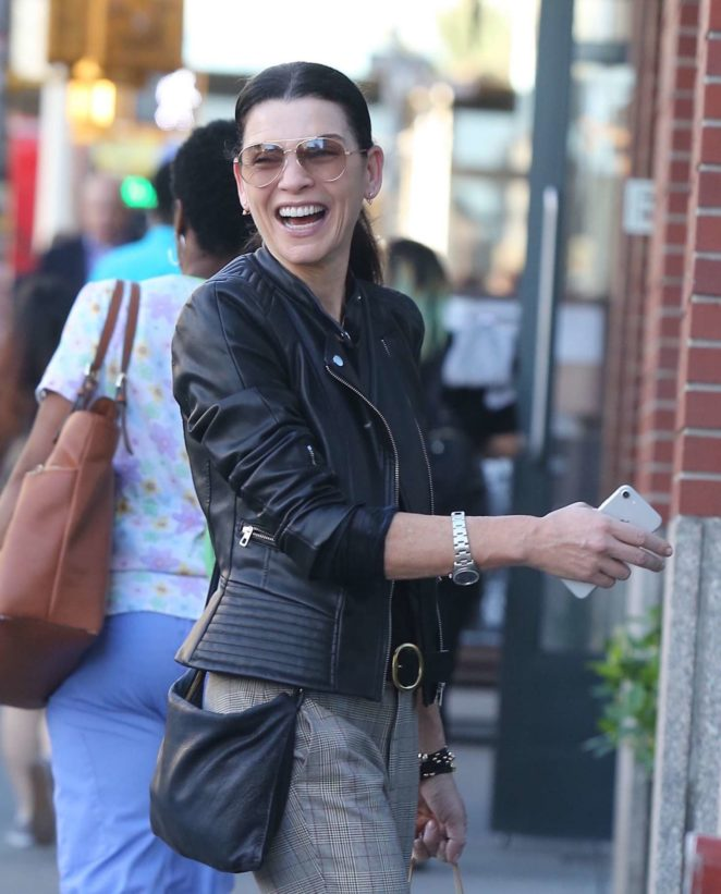 Julianna Margulies Shopping in Soho