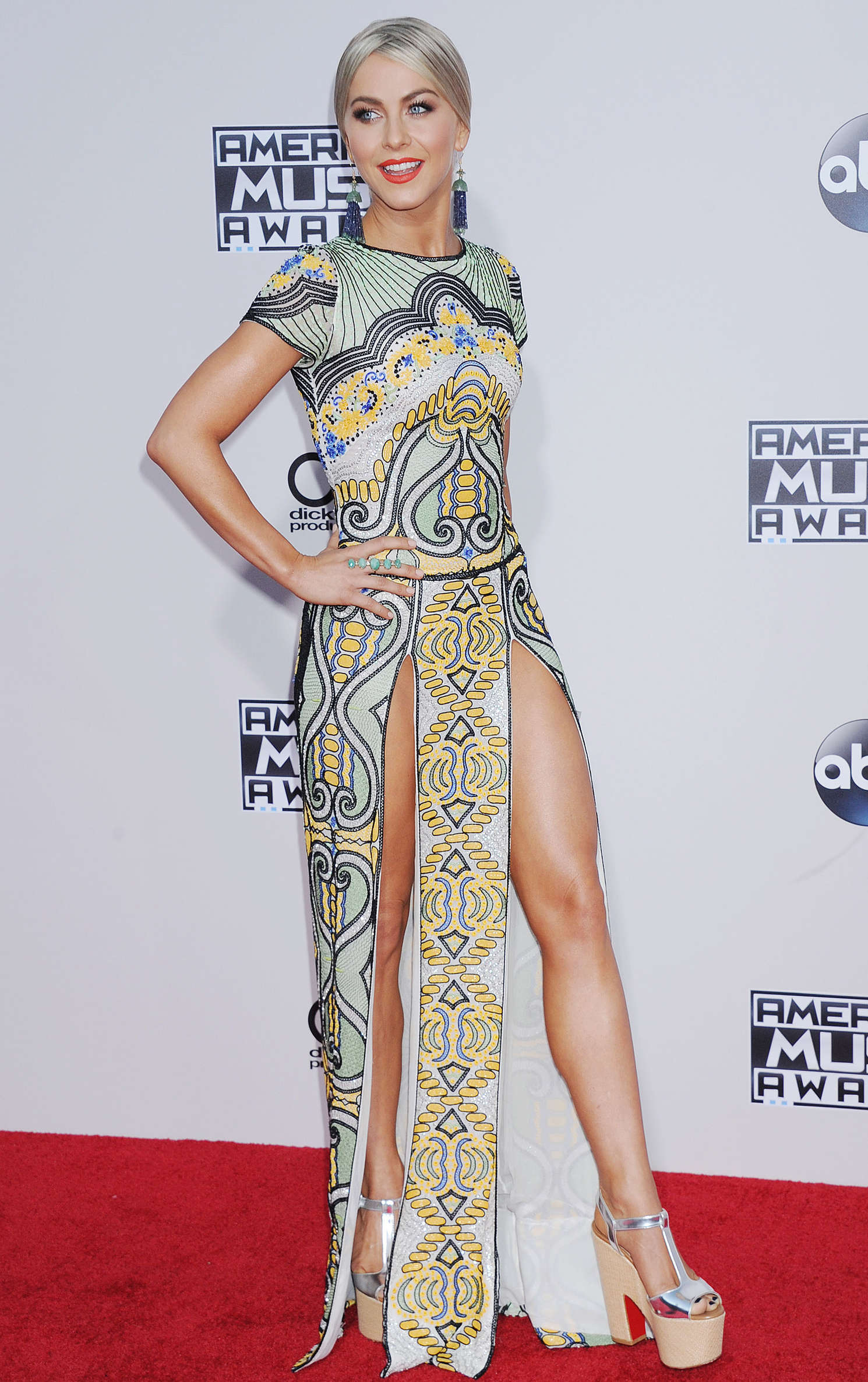 Julianne Hough 2015 American Music Awards In Los Angeles
