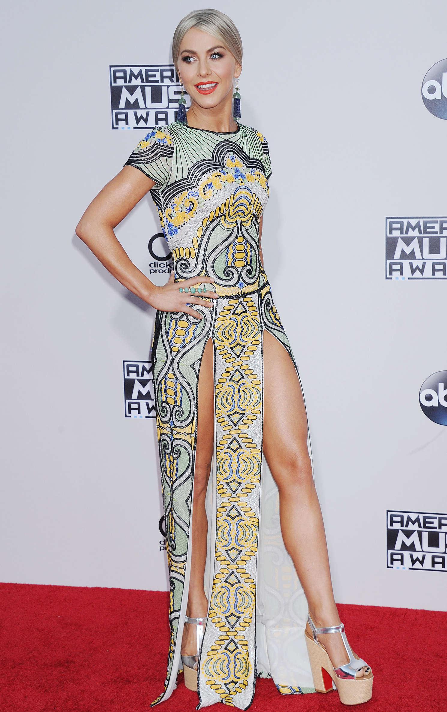Julianne Hough 2015 American Music Awards In Los Angeles