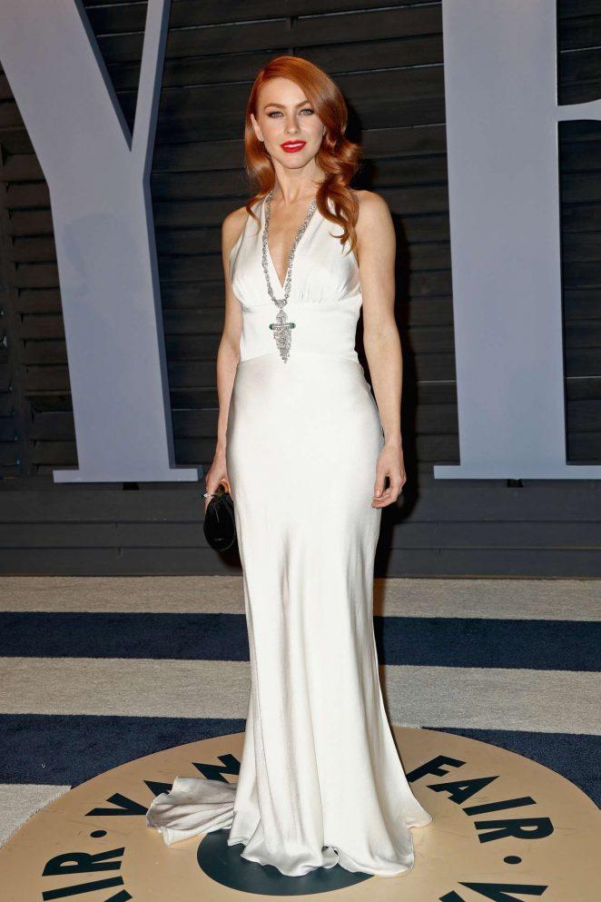 Julianne Hough – 2018 Vanity Fair Oscar Party in Hollywood