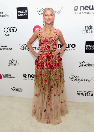 Julianne Hough - Oscars 2015 - Elton John AIDS Foundation Academy Awards Party