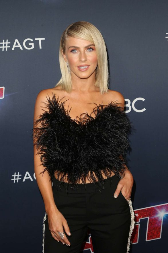 Julianne Hough - America's Got Talent Season 14 Live Show Red Carpet in Hollywood