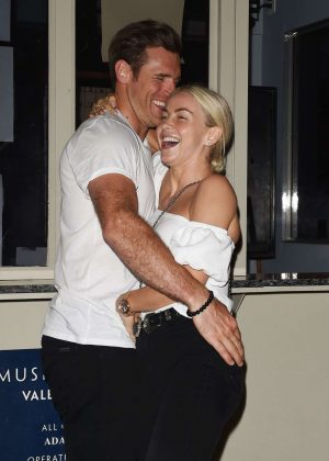 Julianne Hough and Brooks Laich Night Out in Los Angeles