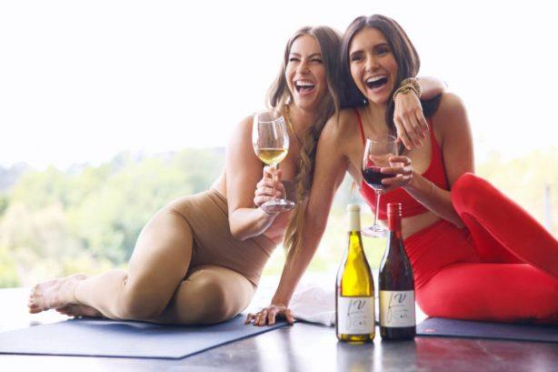 Julianne Hough and Nina Dobrev - Fresh Vine (March 2021)
