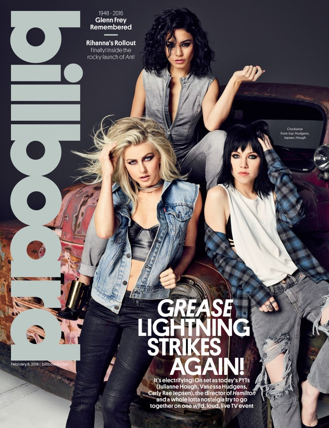 Julianne Hough and Vanessa Hudgens - Billboard Magazine (February 2016)