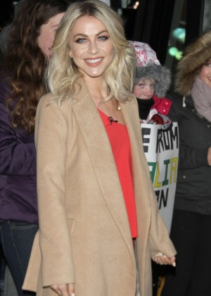 Julianne Hough - Arrives at Good Morning America in New York