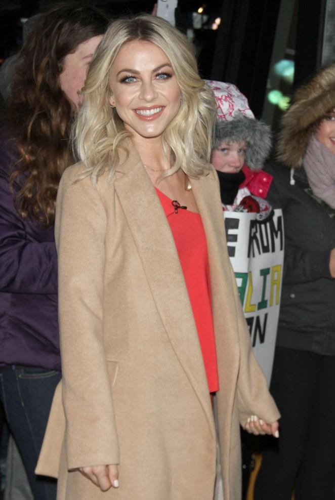 Julianne Hough – Arrives at Good Morning America in New York