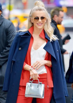Julianne Hough - Arrives at Good Morning America in NYC