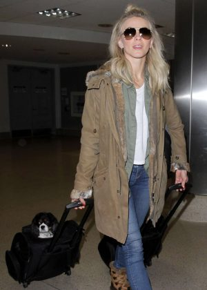 Julianne Hough - Arrives at LAX Airport in Los Angeles