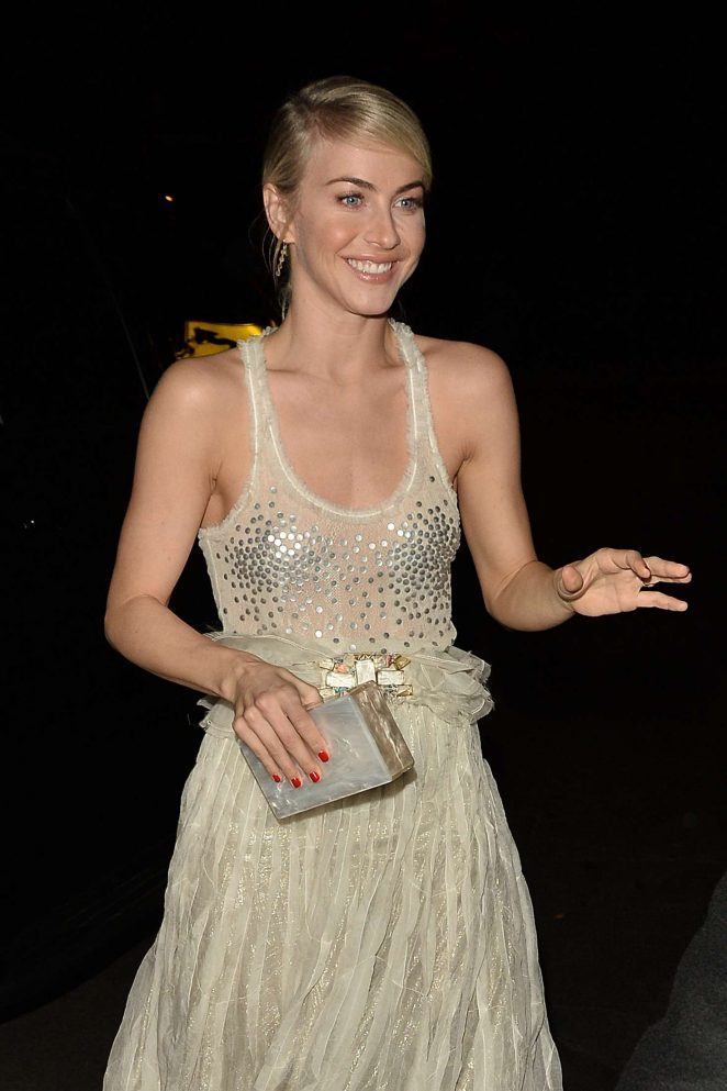 Julianne Hough - Arrives at the Chateau Marmont in LA