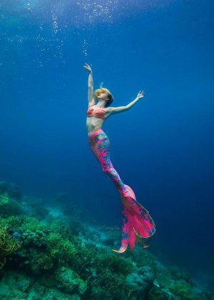 Julianne Hough as a Mermaid - Instagram Pic