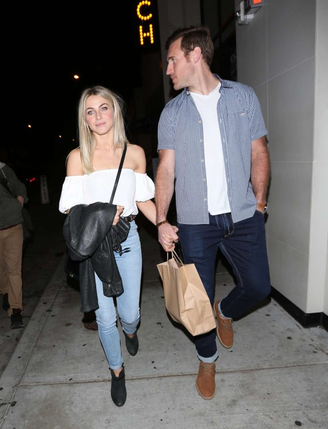 Julianne Hough at Catch restaurant in West Hollywood