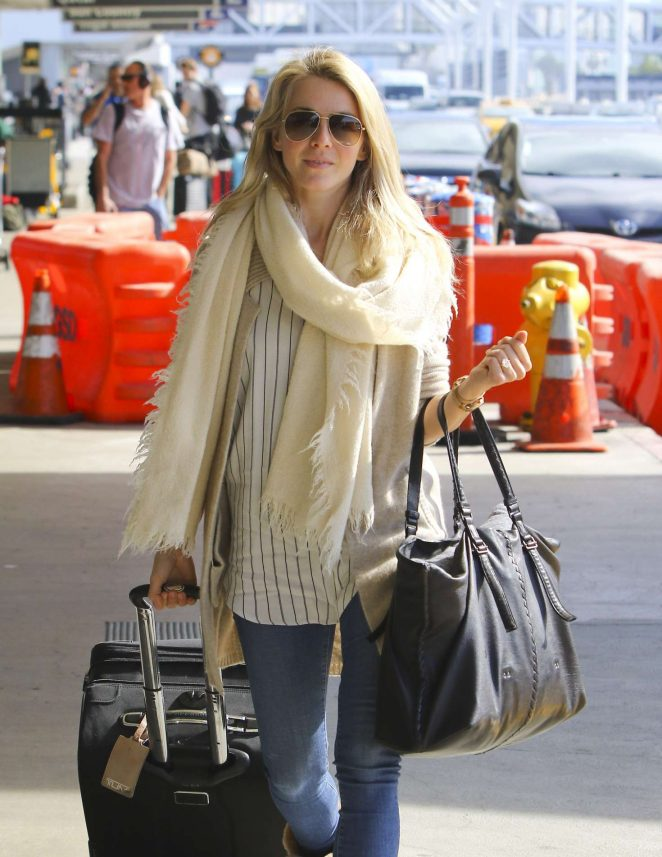 Julianne Hough at LAX Airport in LA