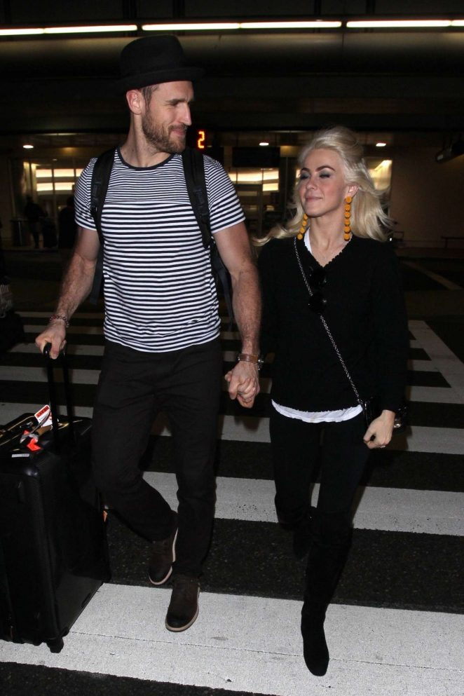 Julianne Hough at LAX airport in Los Angeles