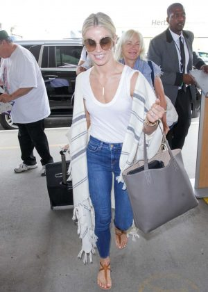 Julianne Hough at Los Angeles International Airport in LA