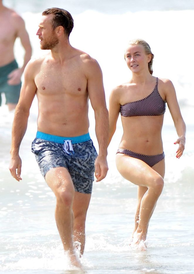Julianne Hough 2017 : Julianne Hough: Bikini with husband Brooks Laich at the beach in Manhattan Beach-02