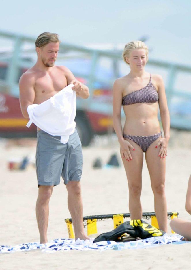 Julianne Hough 2017 : Julianne Hough: Bikini with husband Brooks Laich at the beach in Manhattan Beach-11