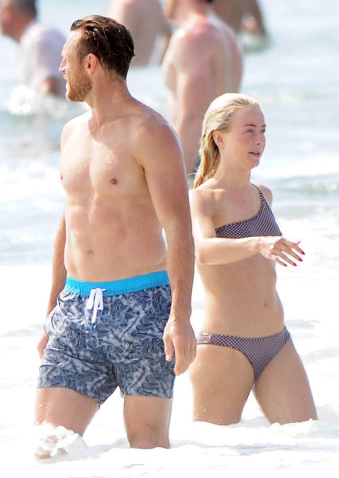 Julianne Hough 2017 : Julianne Hough: Bikini with husband Brooks Laich at the beach in Manhattan Beach-23