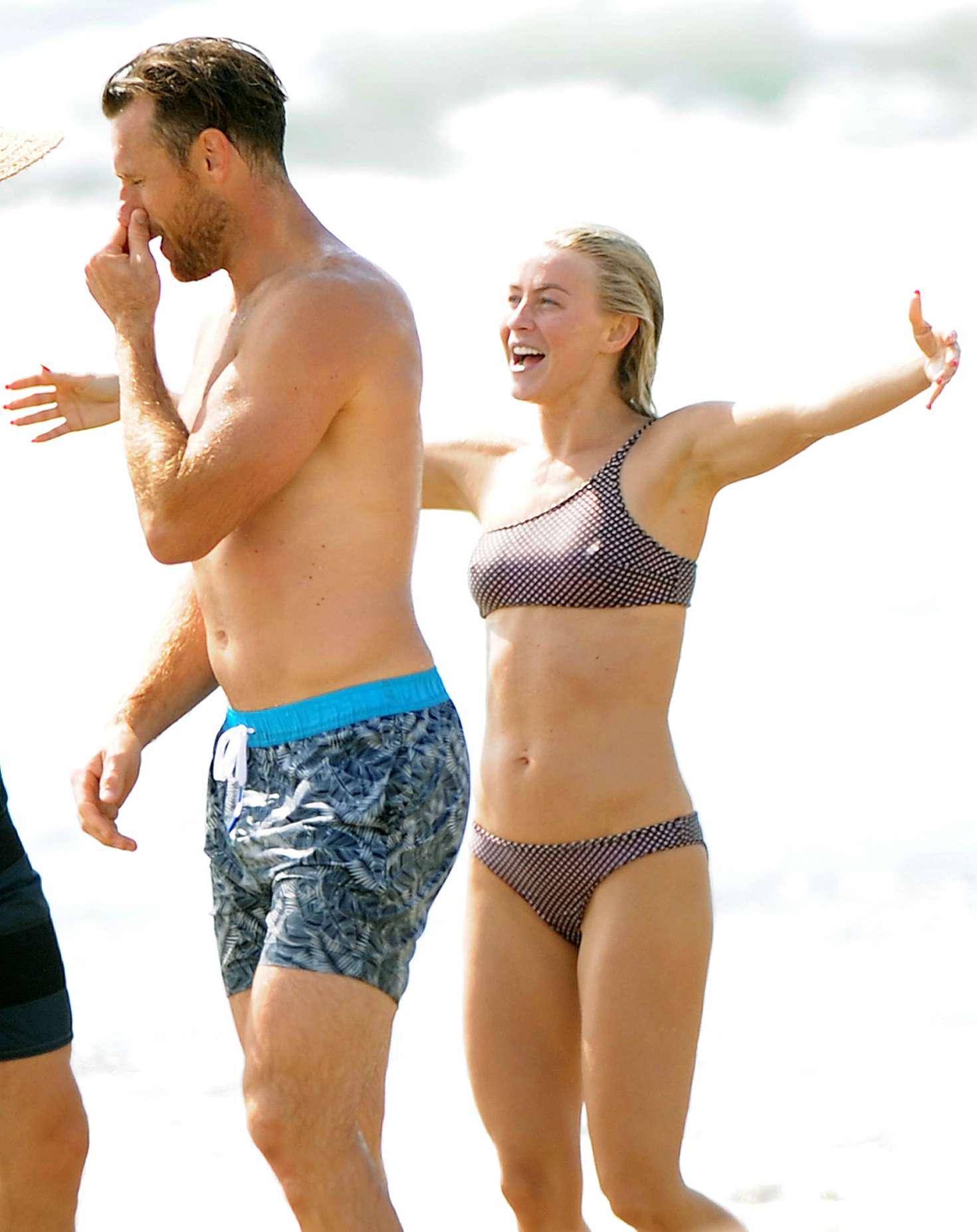 Julianne Hough 2017 : Julianne Hough: Bikini with husband Brooks Laich at the beach in Manhattan Beach-25