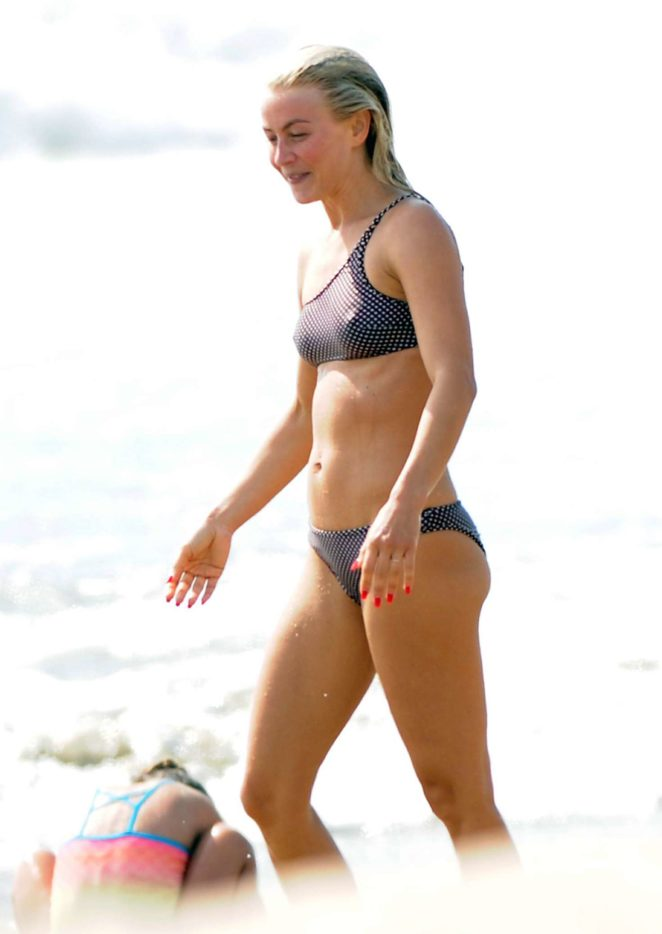 Julianne Hough 2017 : Julianne Hough: Bikini with husband Brooks Laich at the beach in Manhattan Beach-27