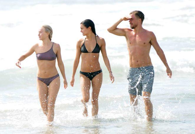 Julianne Hough 2017 : Julianne Hough: Bikini with husband Brooks Laich at the beach in Manhattan Beach-37