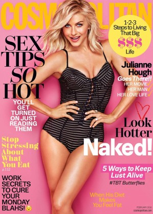 Julianne Hough - Cosmopolitan Magazine (February 2016)