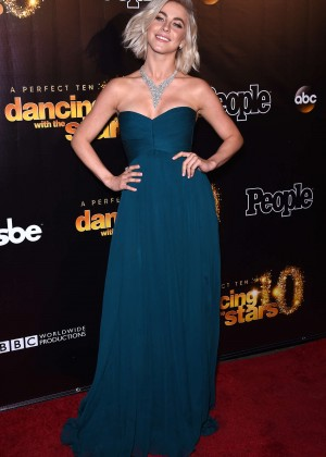 Julianne Hough - DWTS 10th Anniversary Party in West Hollywood