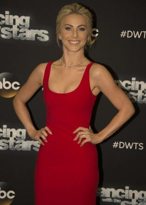 Julianne Hough - Dancing with the Stars in Los Angeles