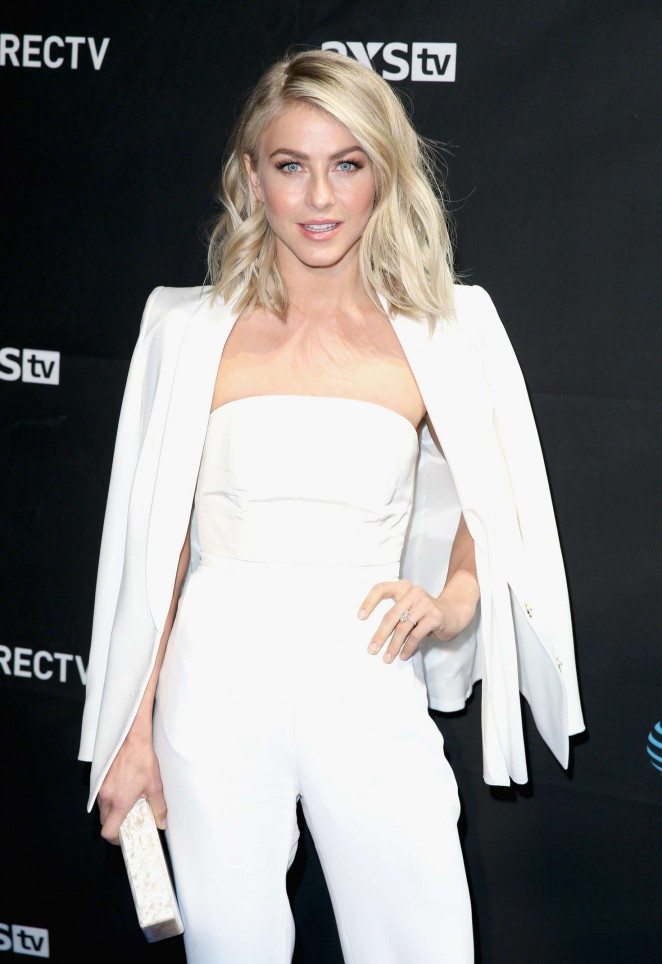Julianne Hough - DirecTV Super Saturday Night in San Francisco