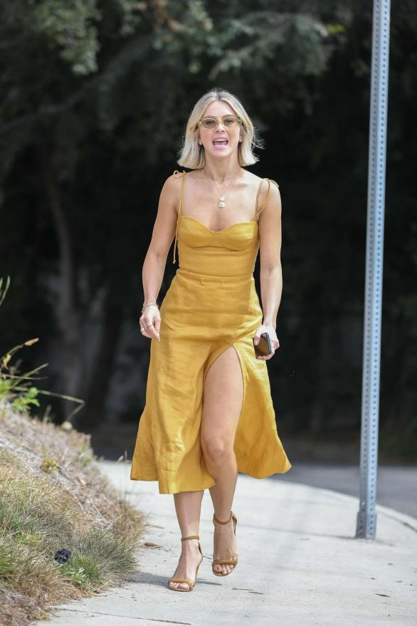 Julianne Hough - Going to a party in Los Angeles