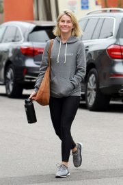 Julianne Hough - Hits the gym in LA