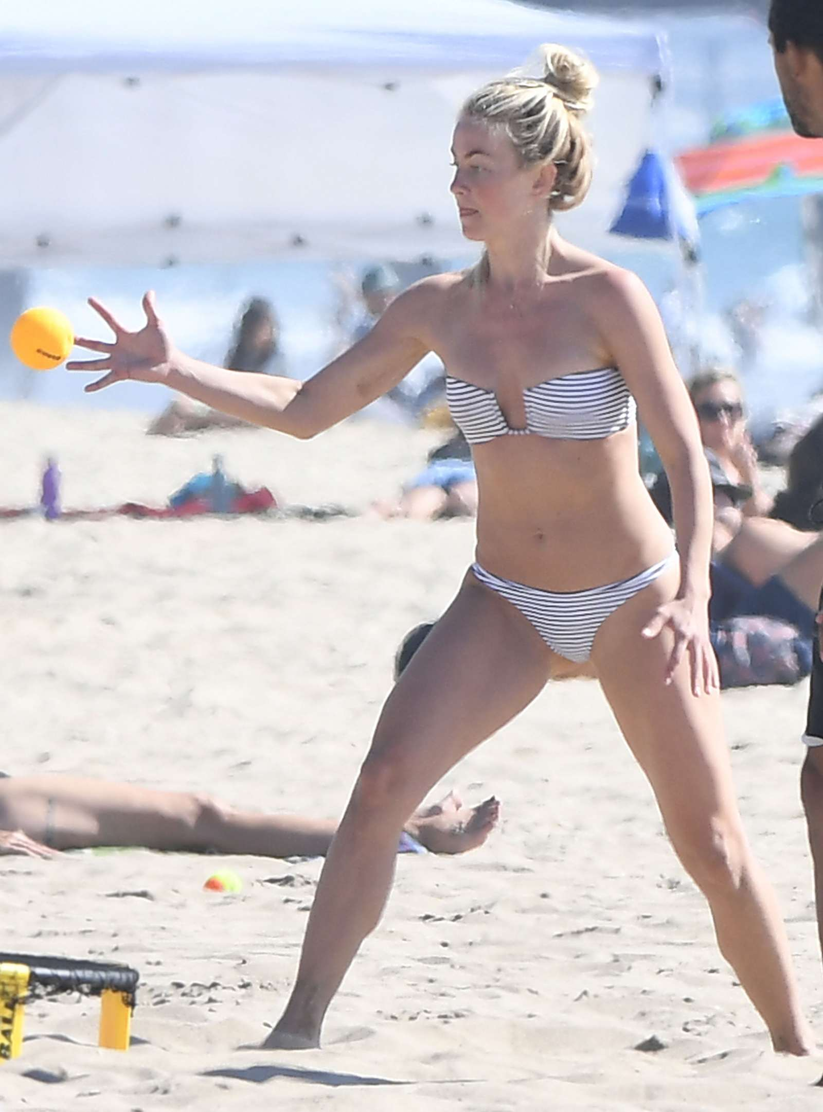 Julianne Hough in Bikini at Newport Beach