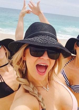 Julianne Hough in Bikini - Social Media Photos