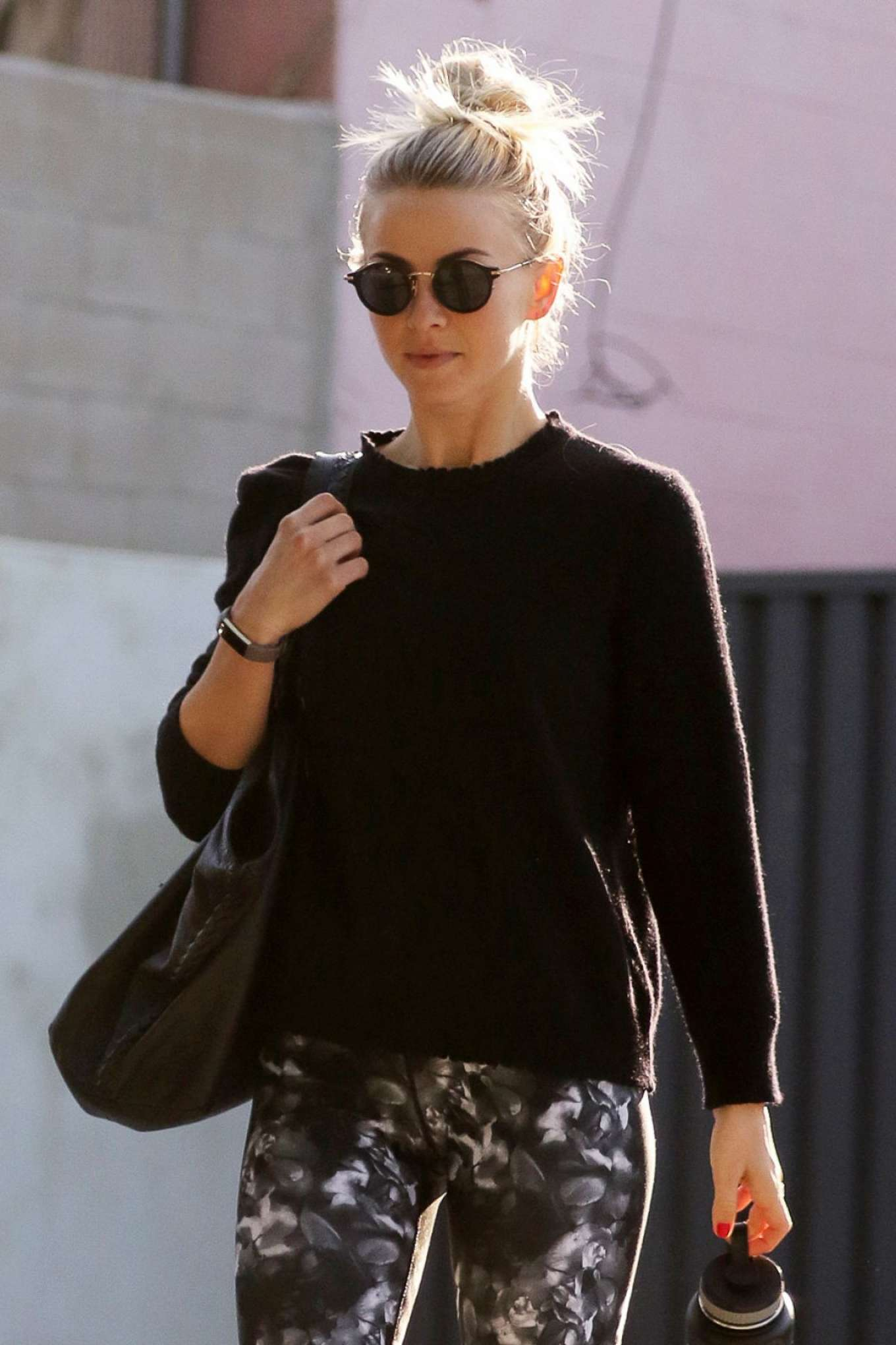 Julianne Hough in Leggings Out in West Hollywood