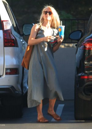 Julianne Hough in Long Dress - Out and about in LA