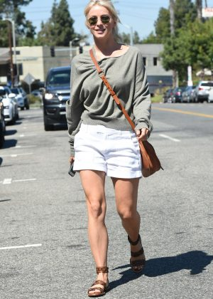 Julianne Hough in Shorts at Joans On Third in Los Angeles