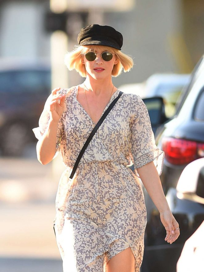 Julianne Hough in Summer Dress - Out and about in Los Angeles