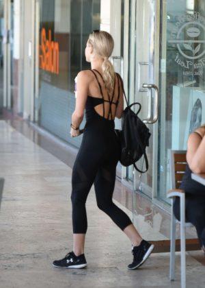 Julianne Hough in Tights out in LA